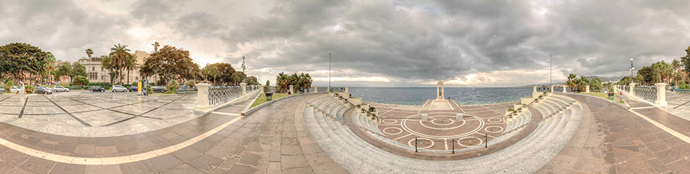 Virtual Tour del Lungomare Falcomatà